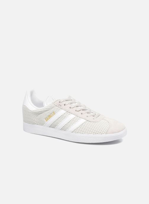 Baskets adidas originals Gazelle W Gris vue détail/paire