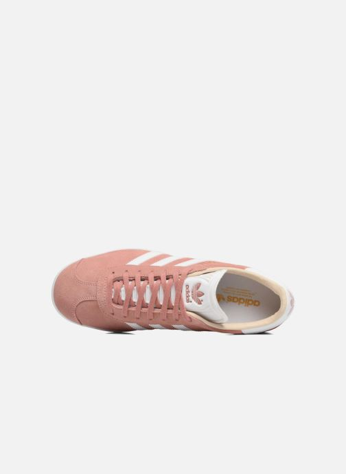 Trainers adidas originals Gazelle W Pink view from the left