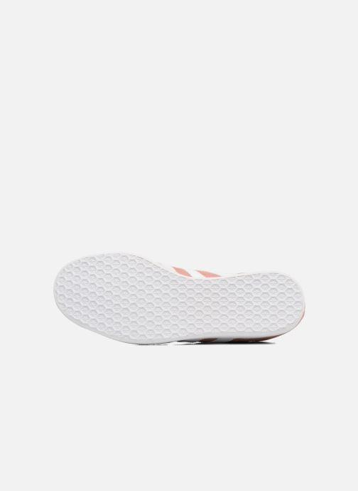 Sneaker Adidas Originals Gazelle W rosa ansicht von oben