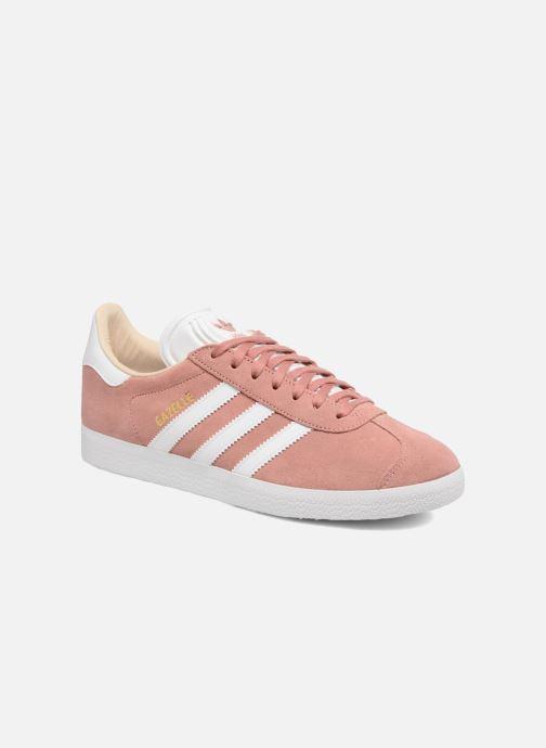 Trainers adidas originals Gazelle W Pink detailed view/ Pair view