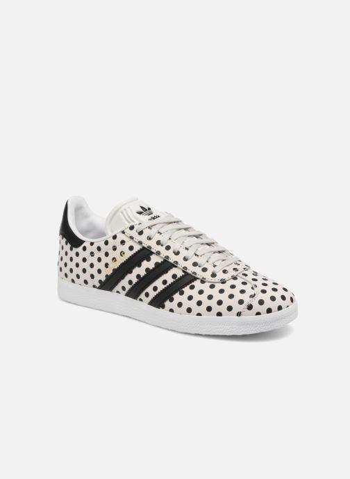 adidas gazelle a pois noir et blanc