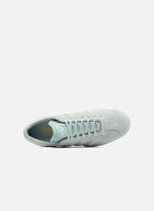 Baskets adidas originals Gazelle W Bleu vue gauche