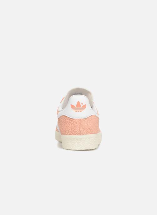 Sneakers adidas originals Gazelle W Oranje rechts