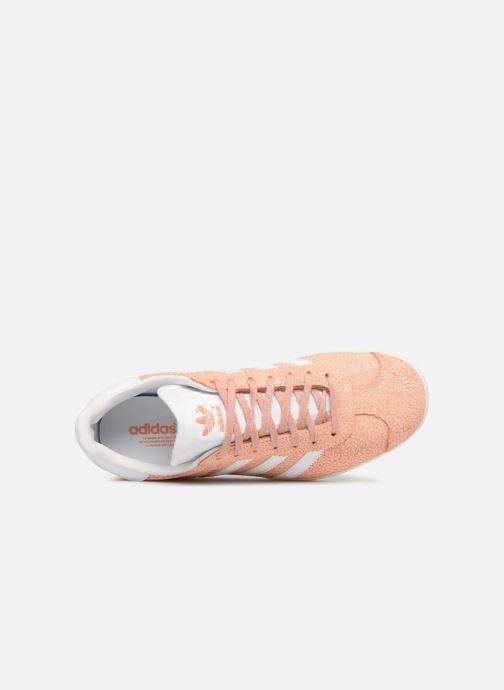 Sneakers adidas originals Gazelle W Arancione immagine sinistra