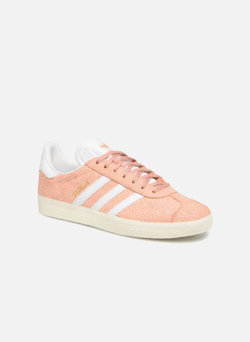 Sneakers adidas originals Gazelle W Orange detaljeret billede af skoene