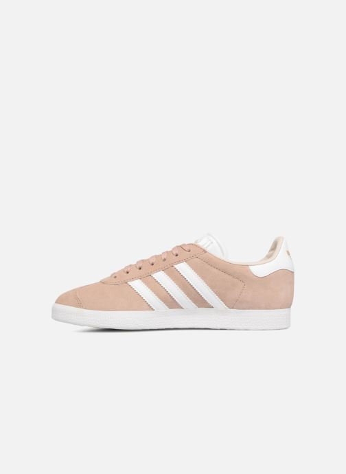 Baskets adidas originals Gazelle W Rose vue face