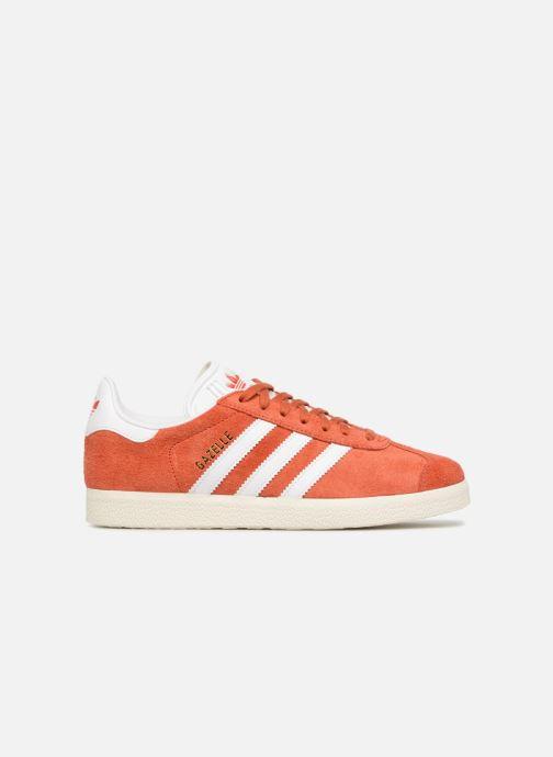 Baskets adidas originals Gazelle W Orange vue derrière