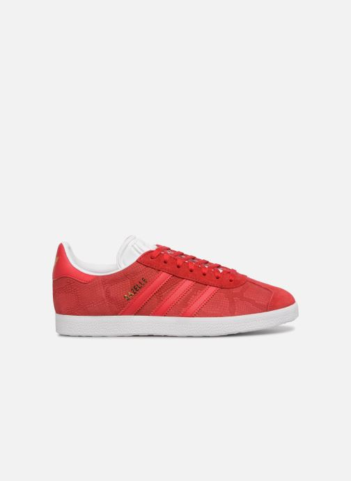 Baskets adidas originals Gazelle W Rouge vue derrière
