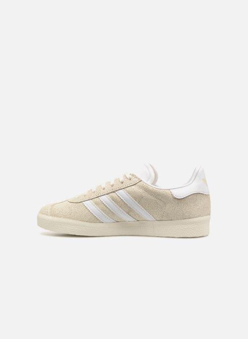 Sneakers adidas originals Gazelle W Beige immagine frontale