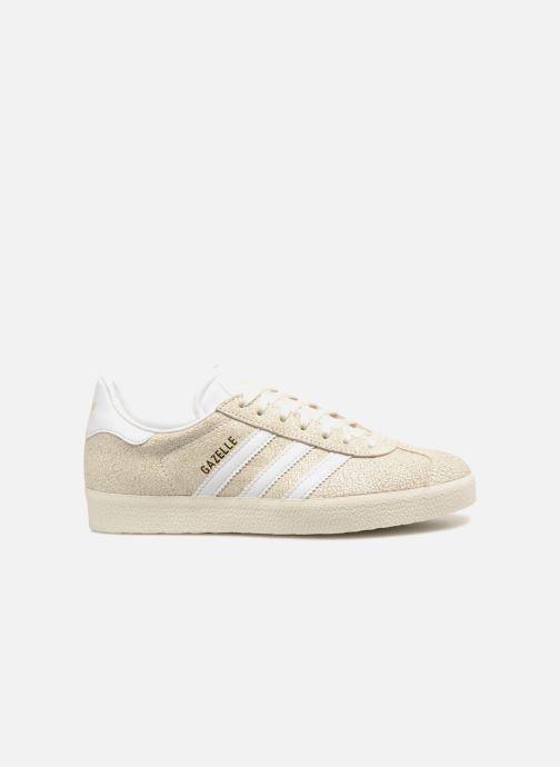 Sneaker adidas originals Gazelle W beige ansicht von hinten