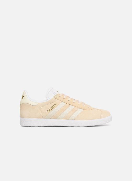 Sneakers adidas originals Gazelle W Beige bild från baksidan