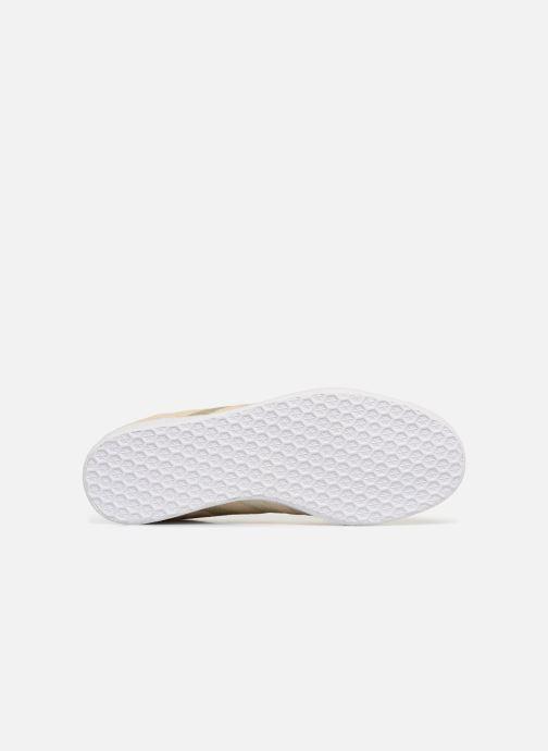 Sneakers adidas originals Gazelle W Beige bild från ovan