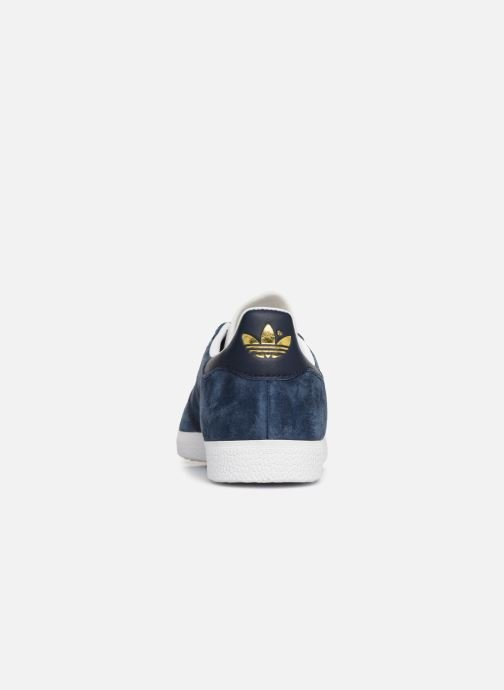 Trainers adidas originals Gazelle W Blue view from the right