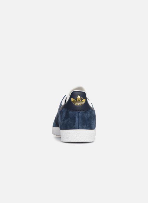 Deportivas adidas originals Gazelle W Azul vista lateral derecha