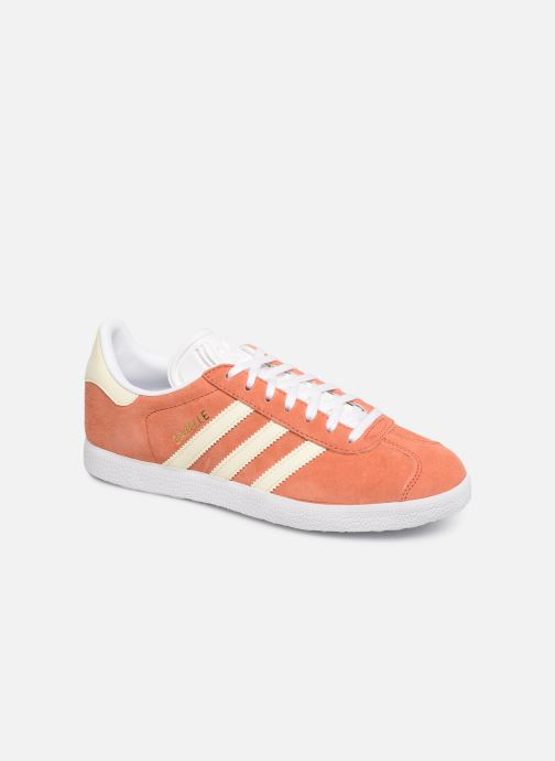 Deportivas adidas originals Gazelle W Naranja vista de detalle / par