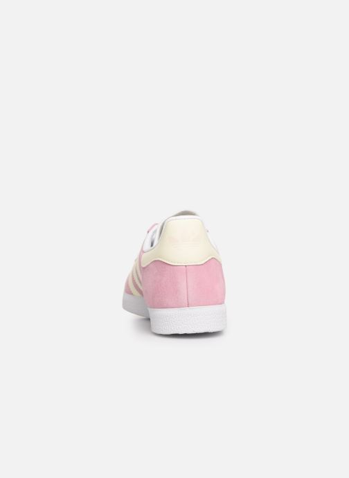 Trainers adidas originals Gazelle W Pink view from the right