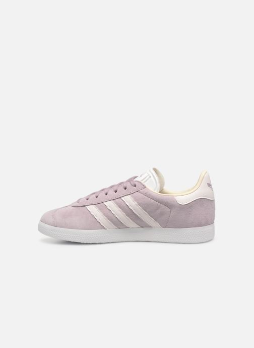 Baskets adidas originals Gazelle W Violet vue face