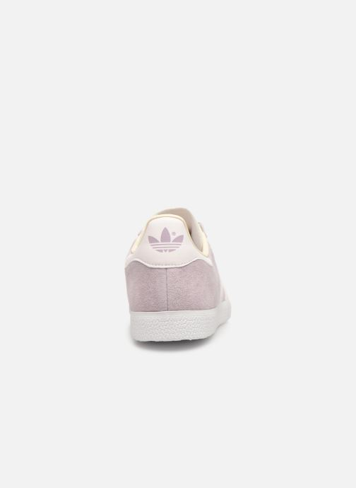 Baskets adidas originals Gazelle W Violet vue droite