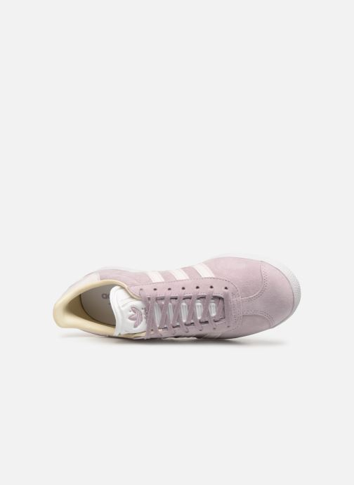 Baskets adidas originals Gazelle W Violet vue gauche