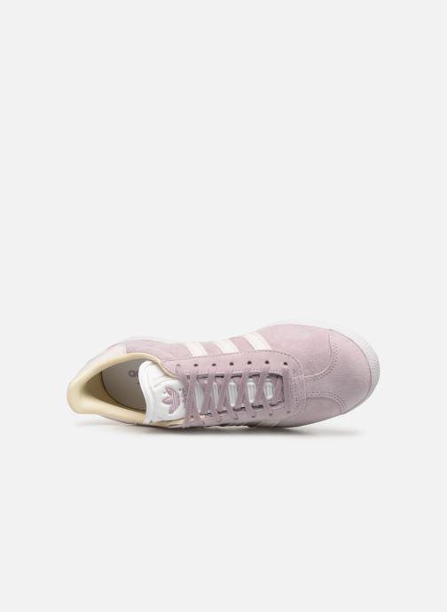 Baskets adidas originals Gazelle W Violet vue gauche