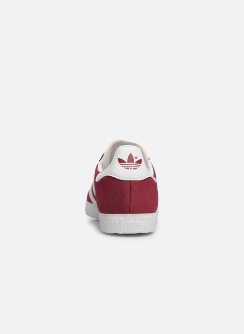 Baskets adidas originals Gazelle W Bordeaux vue droite