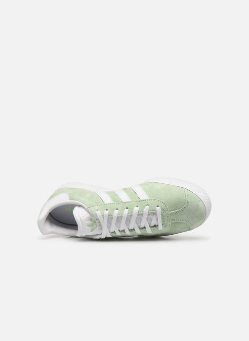 Baskets adidas originals Gazelle W Vert vue gauche