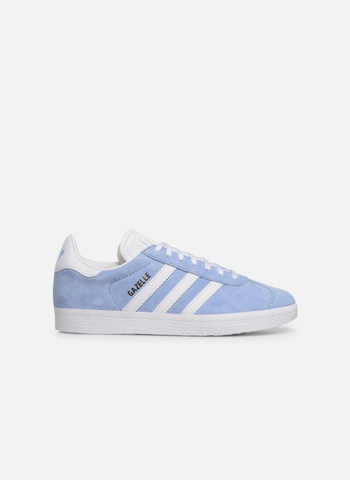 Deportivas adidas originals Gazelle W Azul vistra trasera
