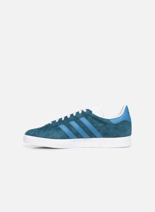 Sneaker adidas originals Gazelle W blau ansicht von vorne