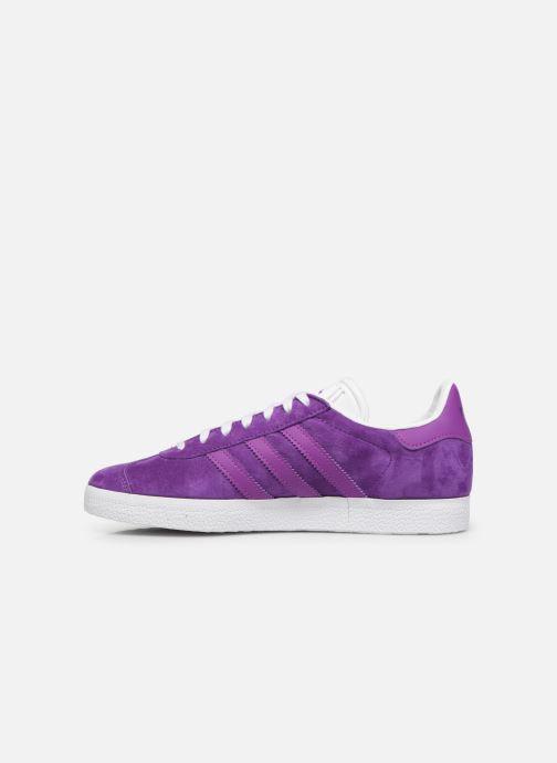 Baskets adidas originals Gazelle W Violet vue face