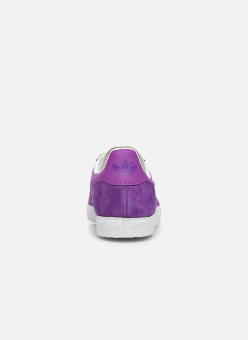 Trainers adidas originals Gazelle W Purple view from the right