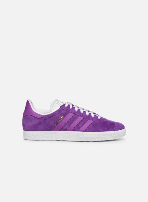 Trainers adidas originals Gazelle W Purple back view