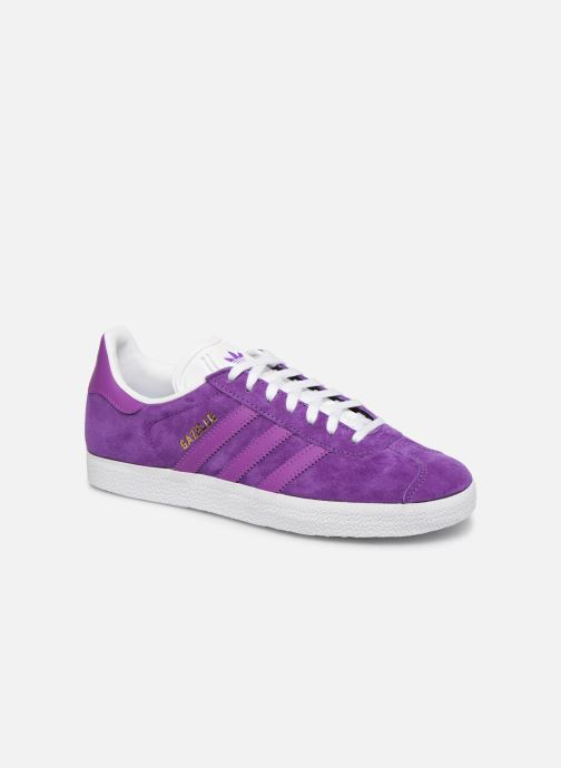 Trainers adidas originals Gazelle W Purple detailed view/ Pair view