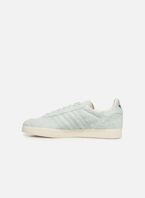 Baskets adidas originals Gazelle W Vert vue face