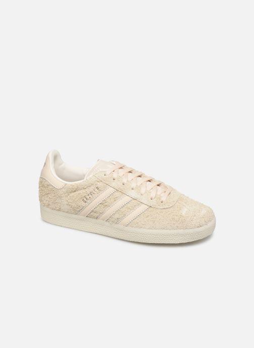Sneakers adidas originals Gazelle W Beige detaljeret billede af skoene