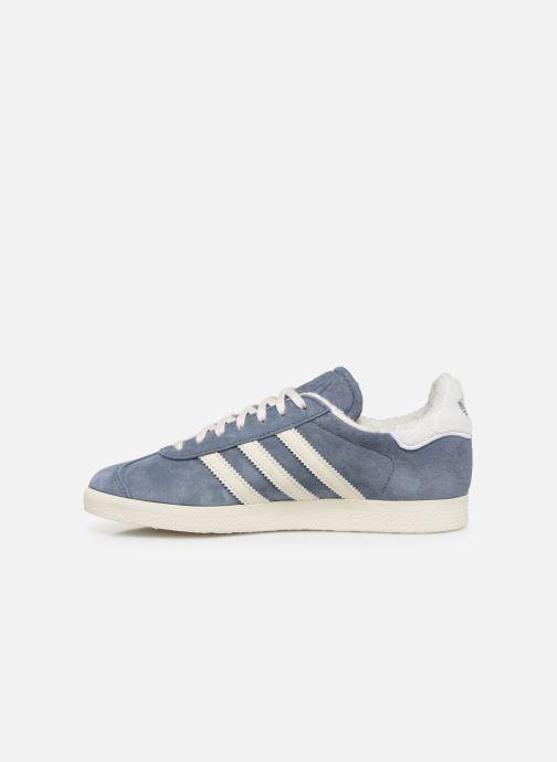Deportivas adidas originals Gazelle W Azul vista de frente