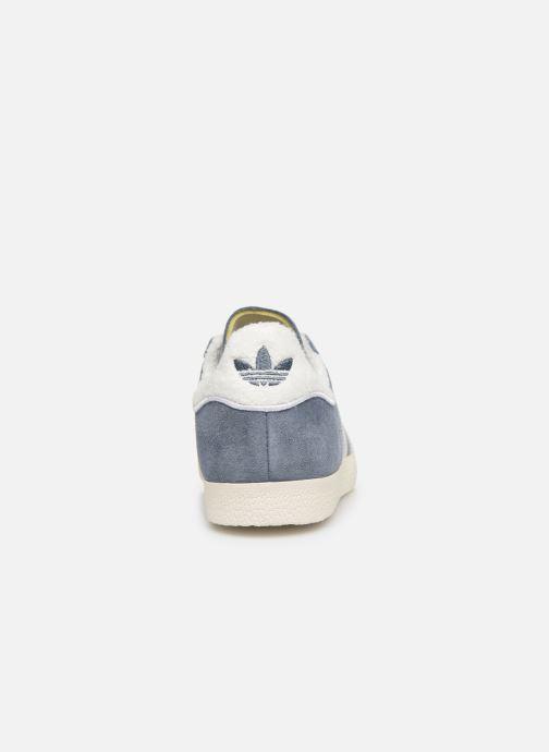 Sneaker adidas originals Gazelle W blau ansicht von rechts