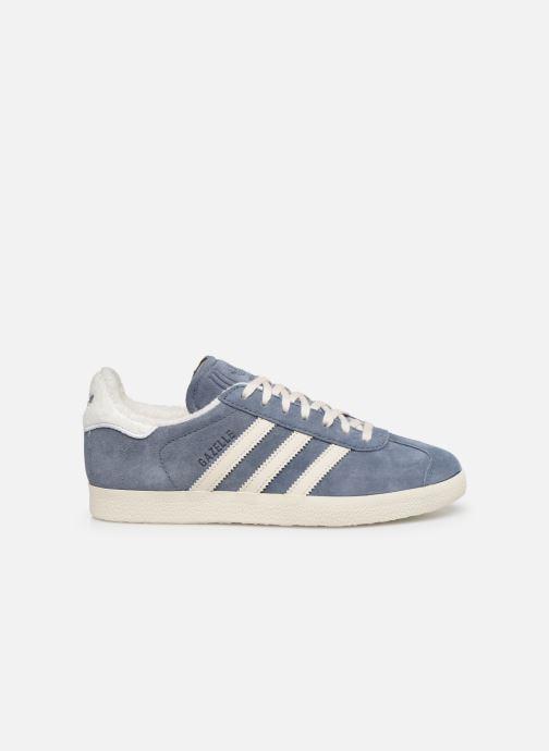 Baskets adidas originals Gazelle W Bleu vue derrière