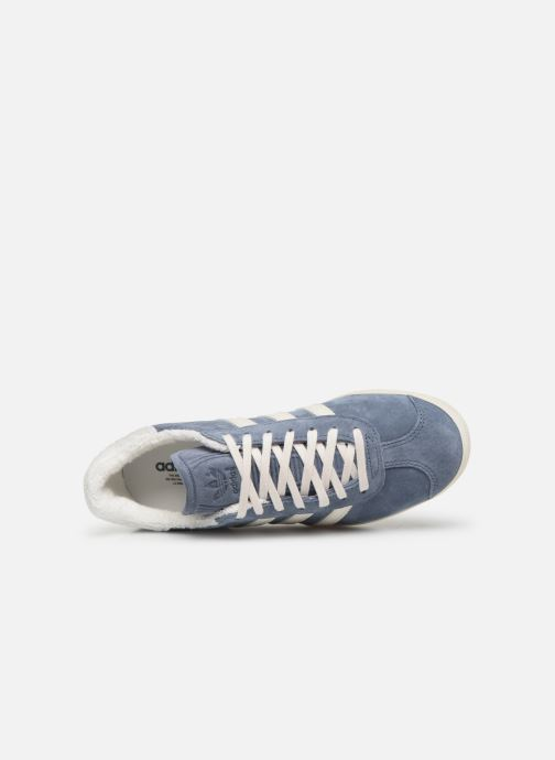 Sneaker adidas originals Gazelle W blau ansicht von links