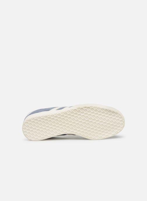 Sneaker adidas originals Gazelle W blau ansicht von oben