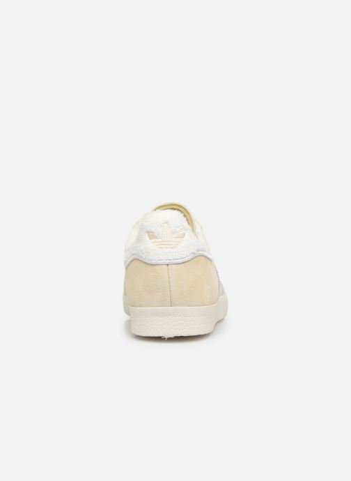 Trainers adidas originals Gazelle W Beige view from the right