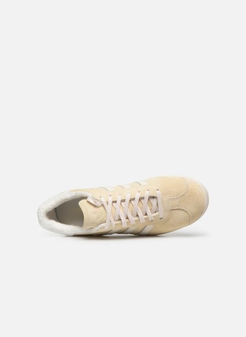 Trainers adidas originals Gazelle W Beige view from the left