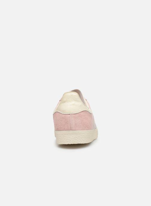 Baskets adidas originals Gazelle W Rose vue droite