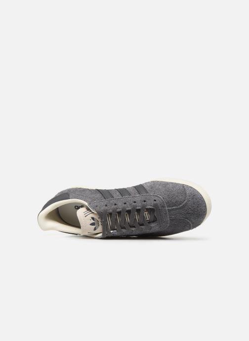 Baskets adidas originals Gazelle W Gris vue gauche