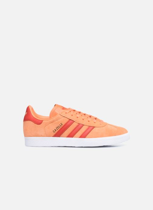Baskets adidas originals Gazelle W Orange vue derrière