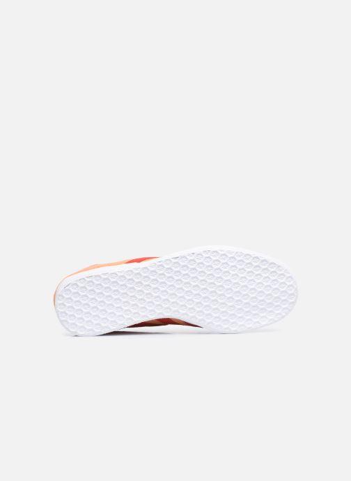 Deportivas adidas originals Gazelle W Naranja vista de arriba