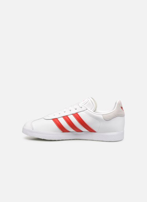 Sneakers adidas originals Gazelle W Bianco immagine frontale