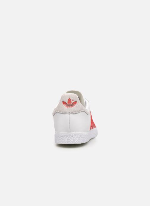 Sneakers adidas originals Gazelle W Bianco immagine destra