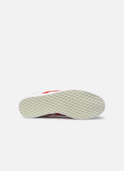 Sneakers adidas originals Gazelle W Bianco immagine dall'alto