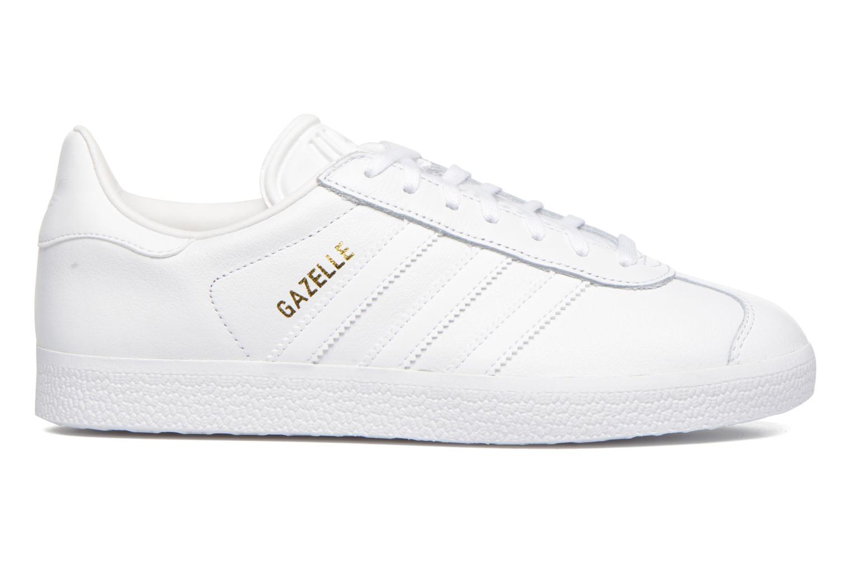 Baskets Adidas Originals Gazelle W Blanc vue derrière