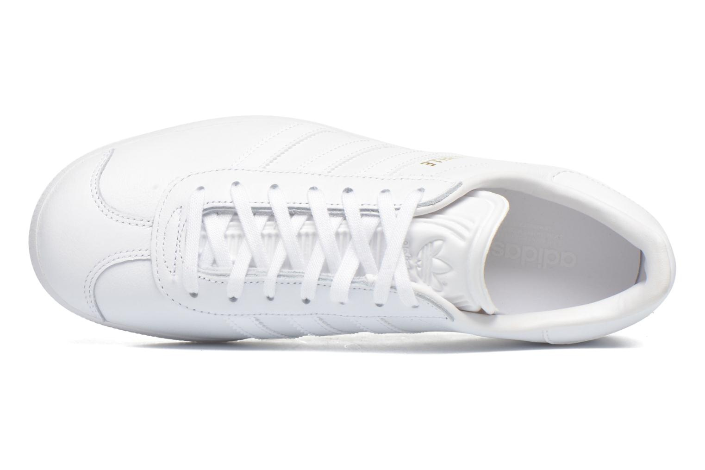 Baskets Adidas Originals Gazelle W Blanc vue gauche
